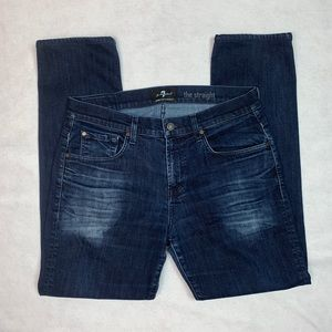 Men's 7 for All Mankind Jeans The Straight 34 x 31